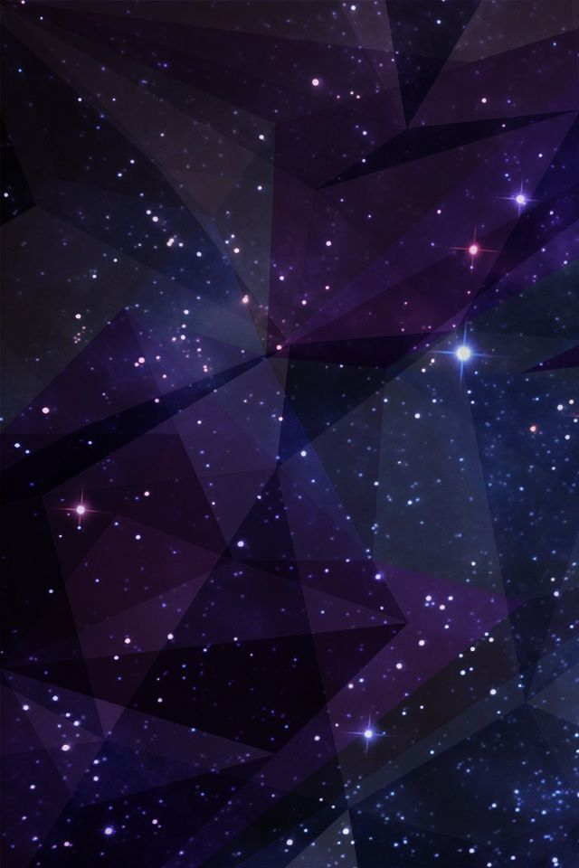 Geometric Galaxy Wallpaper For Iphone 4 Backgrounds