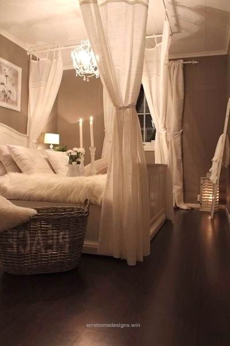 romantic bedroom ideas easy and cheap, curtain rod ( white christmas ...