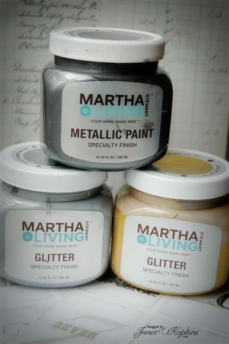 Martha stewart metallic paint these are at home depot - Martha stewart decoracion ...