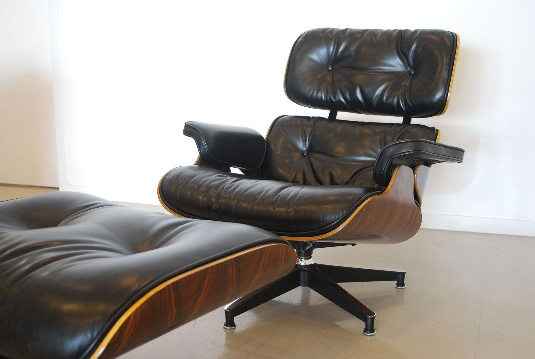 Classic Design Herman Miller Eames Lounge Chair Sessel Lesesessel Stühle Mit Hoher Rückenlehne