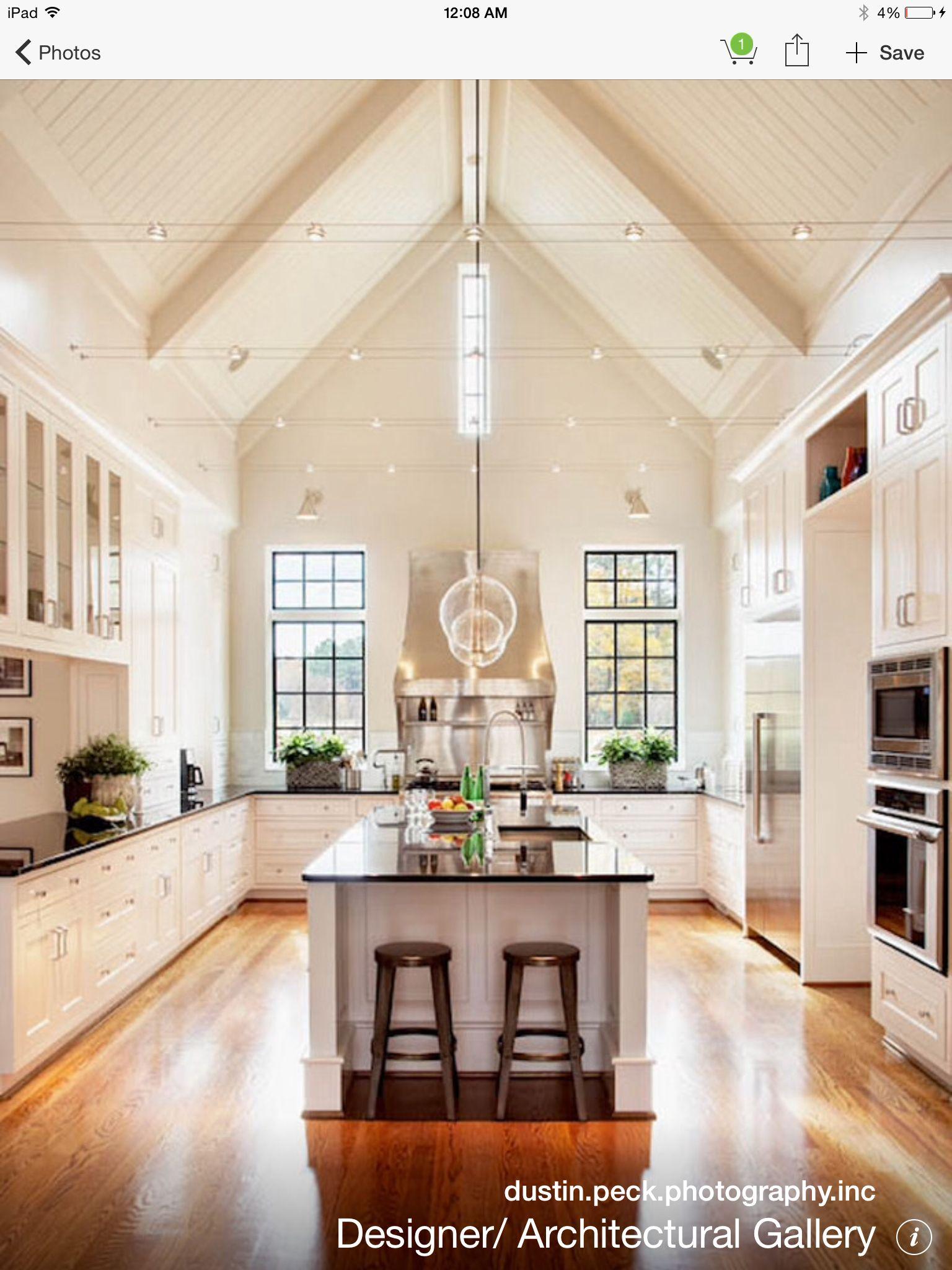 Image result for lights vaulted ceiling design pinterest