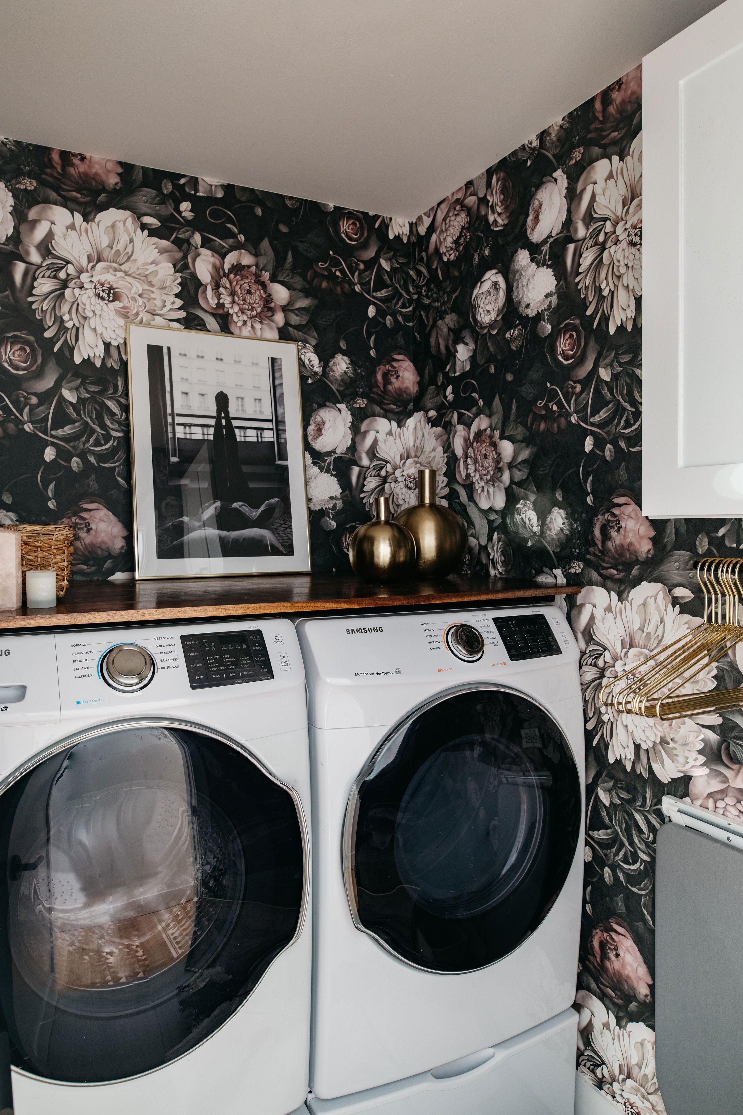 So Who Out There Loves Doing Laundry Crickets That S What I Thought What If I Told You That Adding Some Character To In 2020 Laundry Room Small Spaces Rooms Reveal