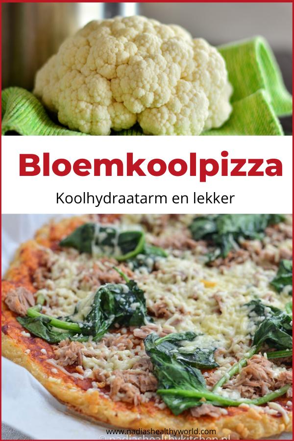 Koolhydraatarme pizza