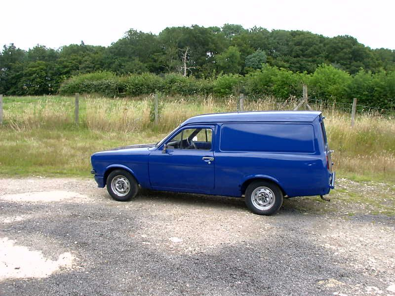 Ford Escort Mk2 Van candy blue | Ford Escort | Pinterest | Ford ...