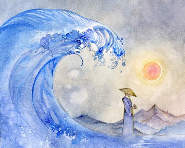 """Stephanie Pui-Mun Law - Shadowscapes """"Flowing with the Waves"""""""