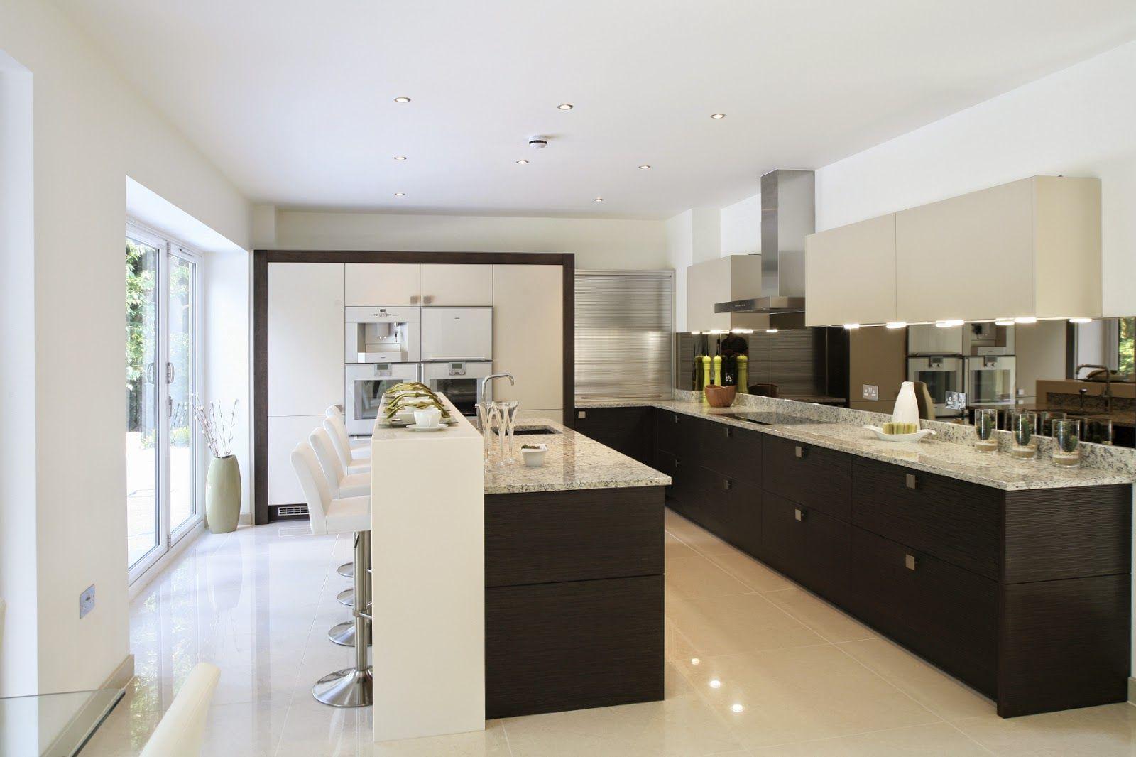 50 Ultra Modern Custom Kitchen Designs - Home Garden Decoration ...