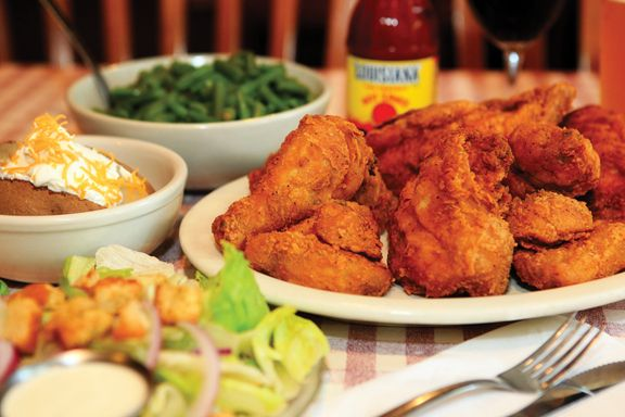 Stroud's Pan-Fried Chicken | love to eat family style.