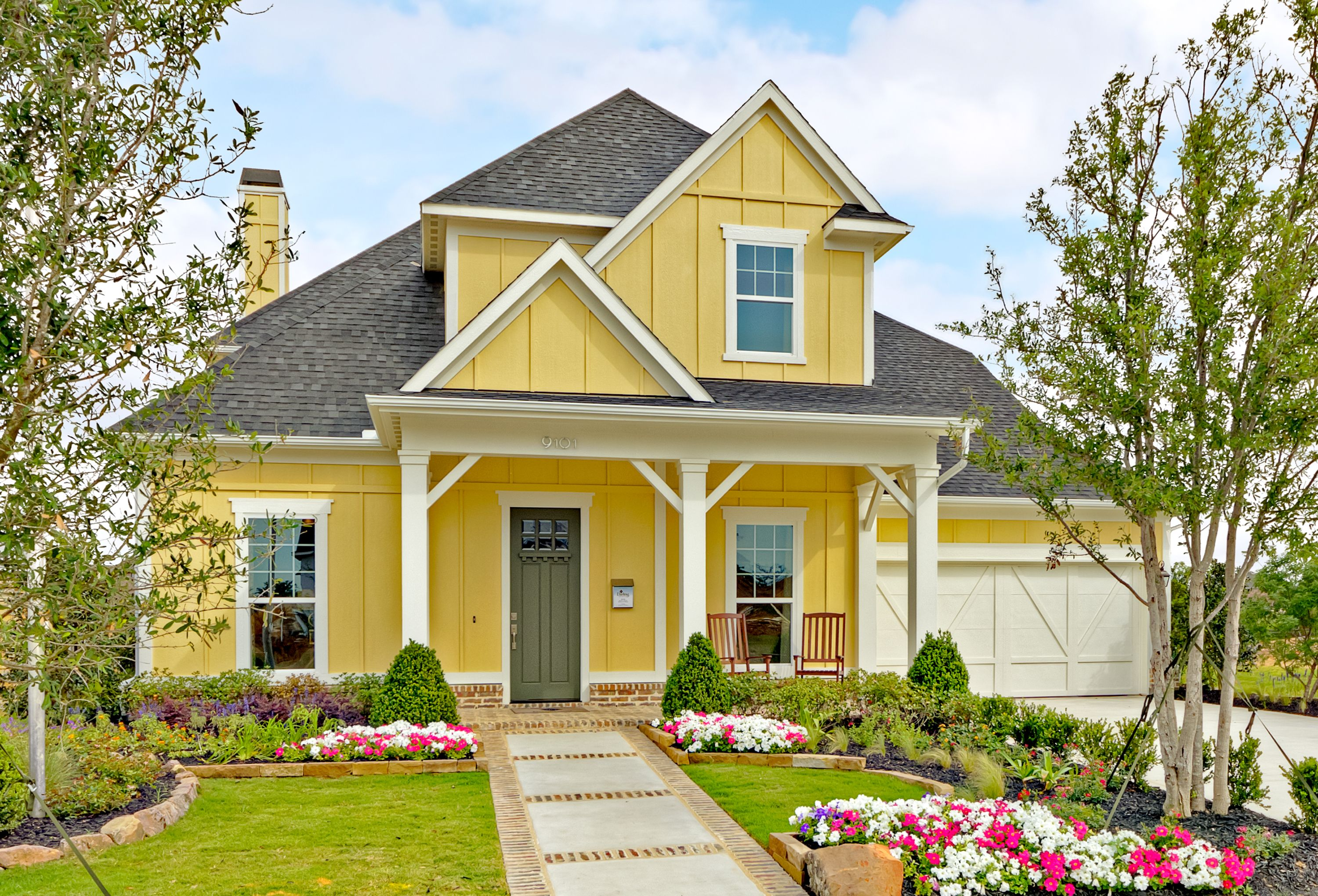 Lantana American Classic Front Elevation Home Designs
