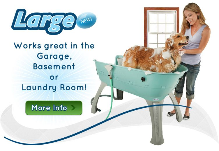 Official Home of the Booster Bath Elevated Plastic Dog