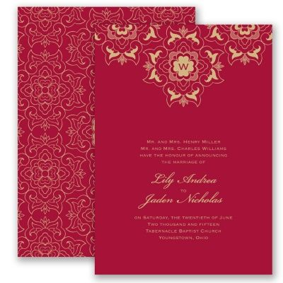 Zen wedding invitation scrollwork floral chinese korean lace zen wedding invitation scrollwork floral chinese korean lace at invitations by stopboris Image collections