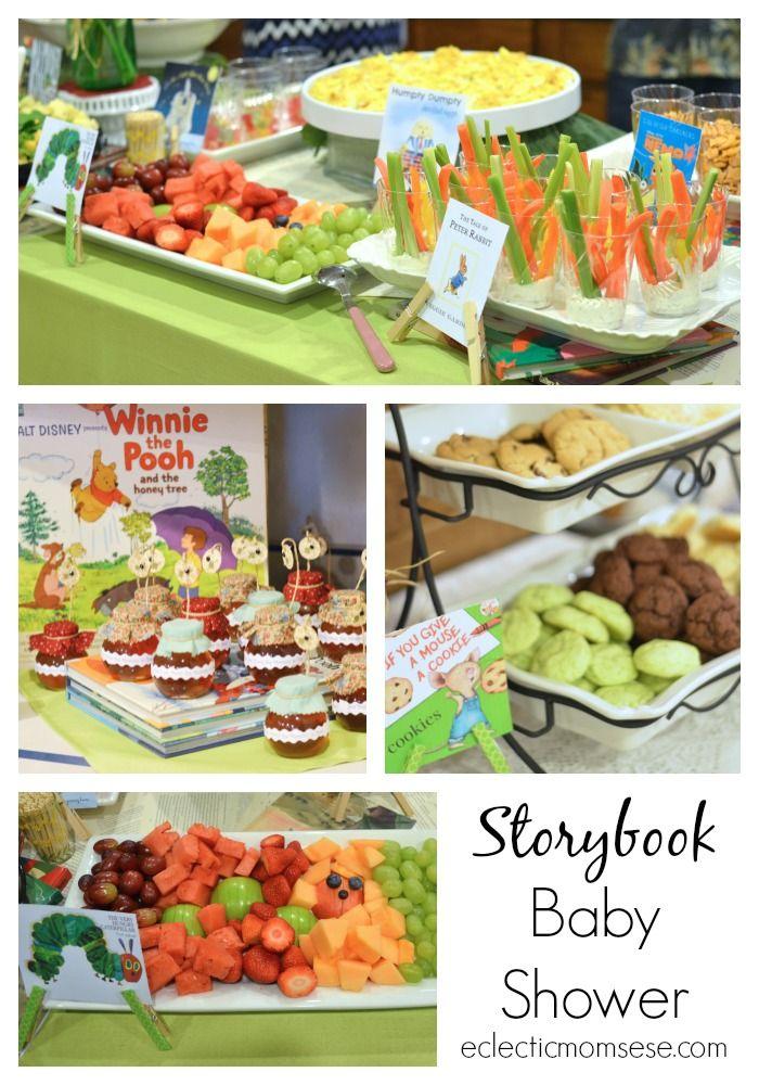 Storybook Baby Shower Printables Storybook Baby Shower Babies