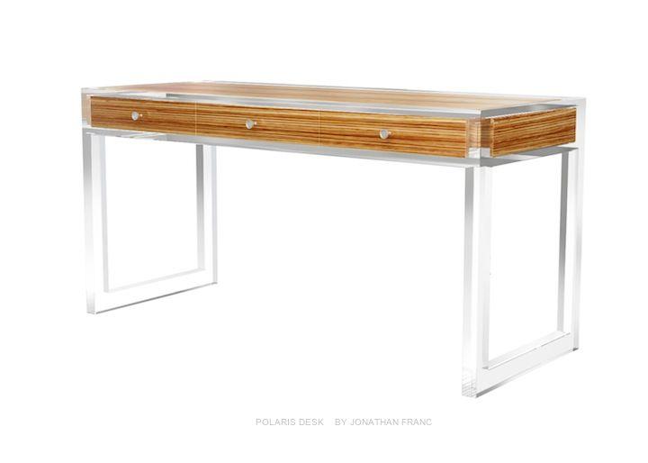 Remarkable Polaris Desk By Jonathan Franc Jonathan Franc Custom Machost Co Dining Chair Design Ideas Machostcouk