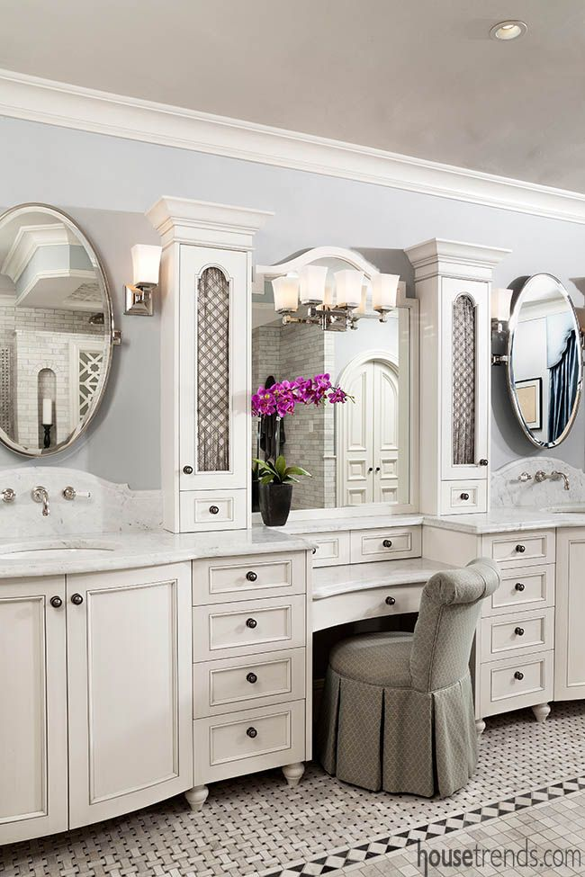Makeup counter separate vanities in 2019 Makeup counter