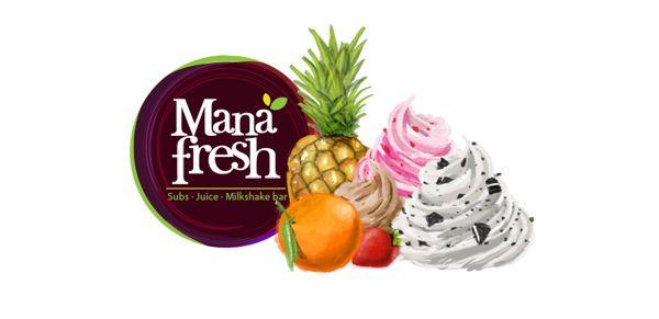 Mana Fresh - Branding on Behance