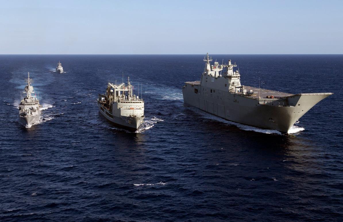 Photo Of The Day Australian New Zealand Navy Ships Train For Rimpac In 2020 Royal Australian Navy Navy Ships Navy Carriers