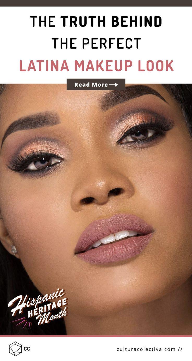 The Dark Truth Behind The Perfect Latina Makeup Look. Not
