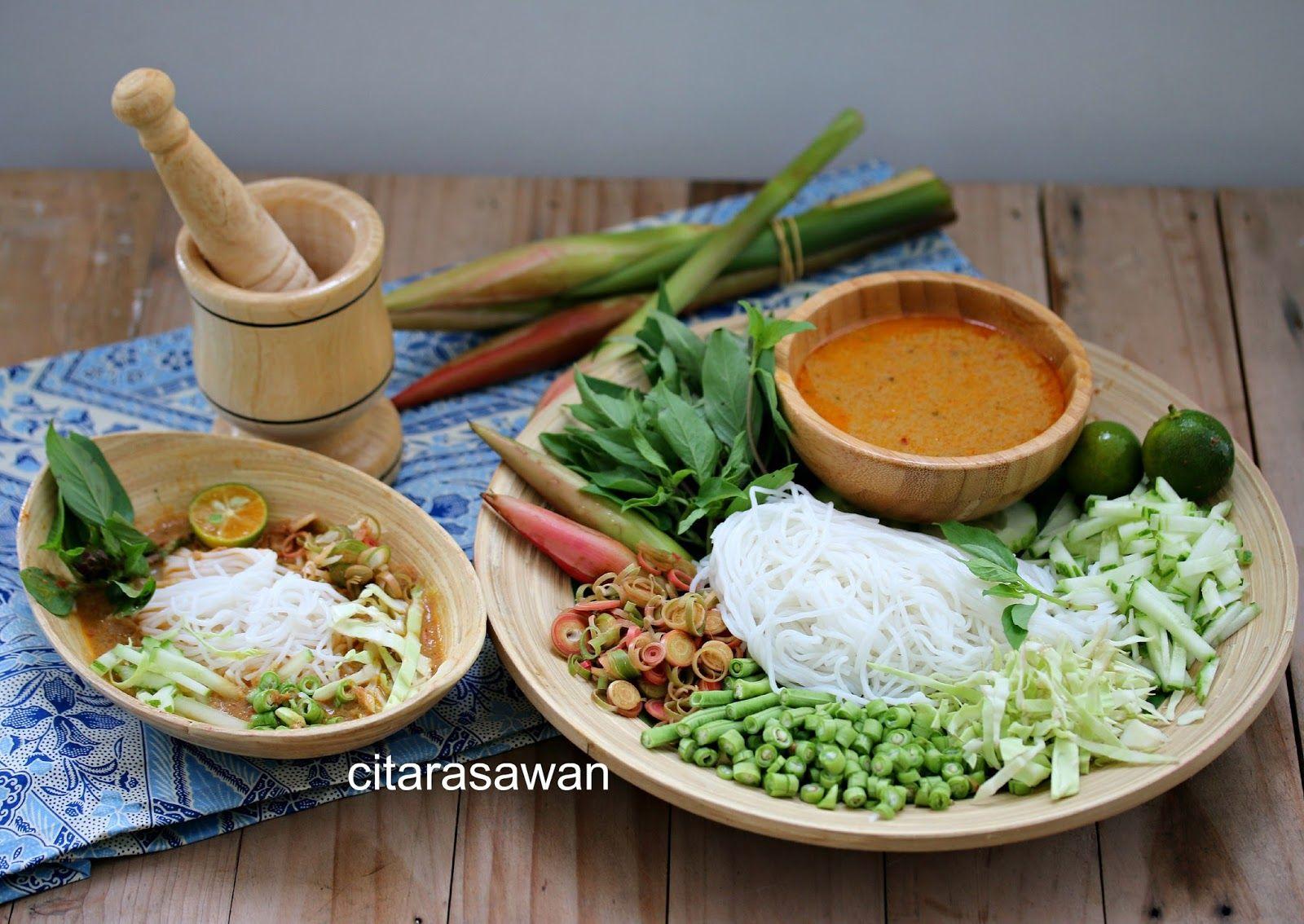 Laksa Lemak Siam Thai Laksa Resepi Terbaik Makanan Laksa
