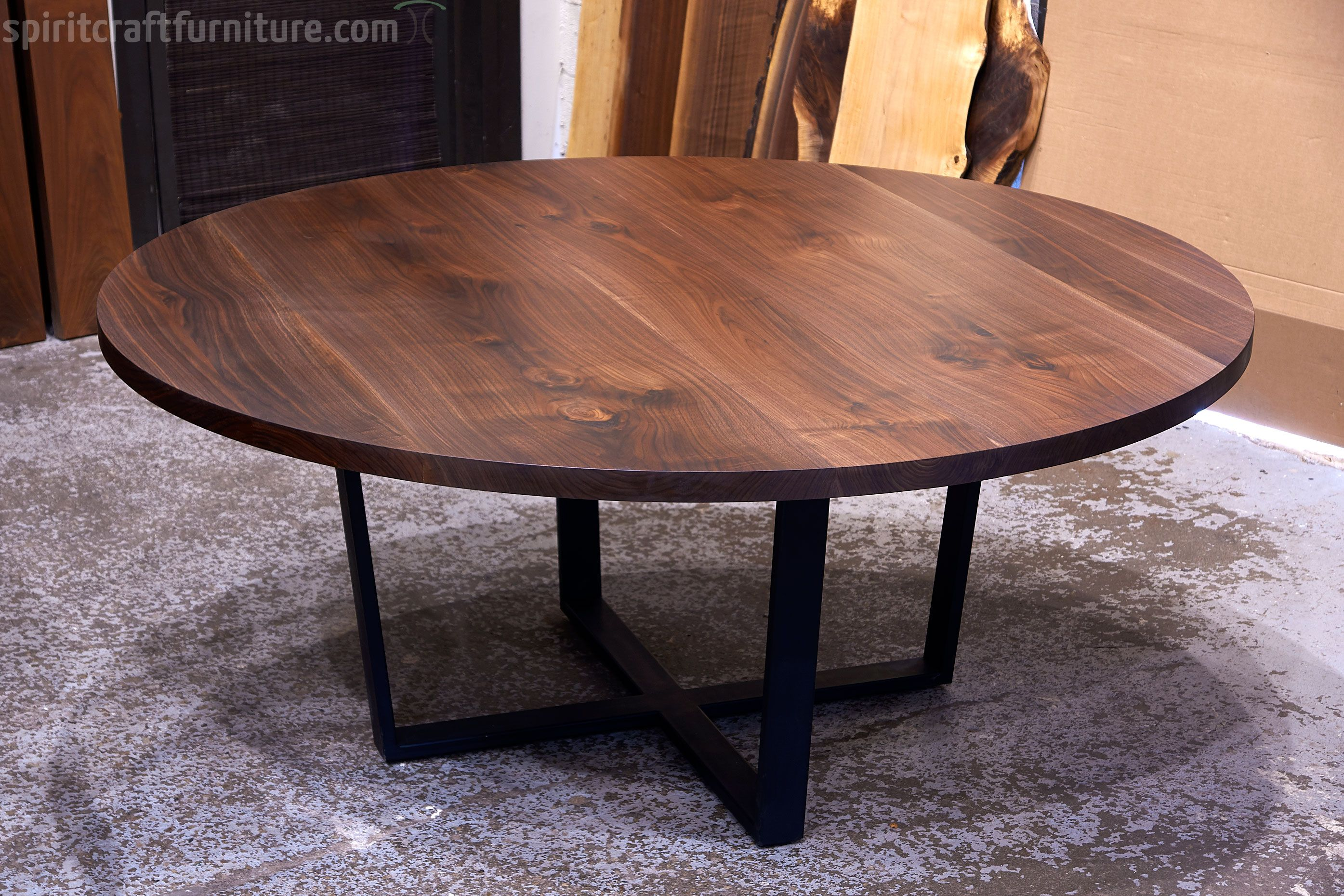 Custom Conference Tables With Leg And Grommet Options Handcrafted From Kiln Dried Solid Hardwood In Live Edge Dining Table Hardwood Table Walnut Dining Table