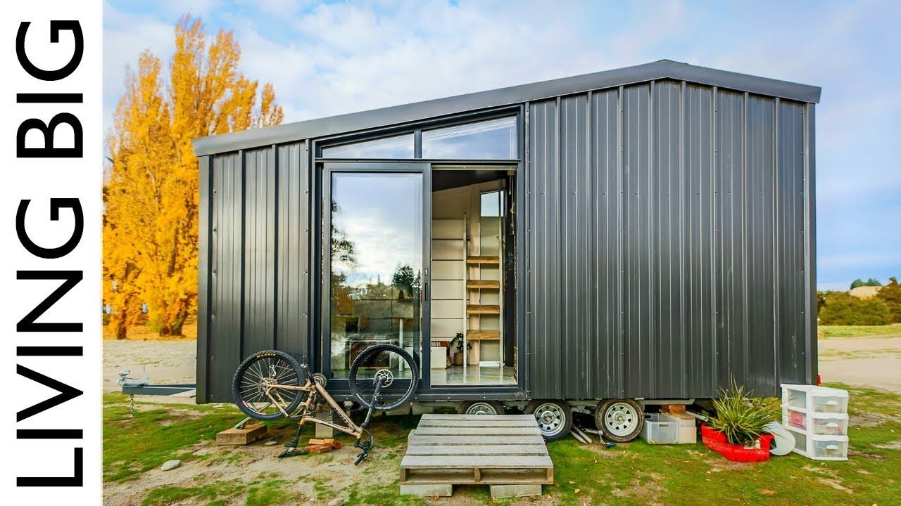 Architect Builds Incredible Off The Grid Tiny Home To