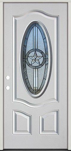 3 4 Oval Texas Star Fiberglass Prehung Door Unit 60 Prehung Doors Texas Star Fiberglass Door
