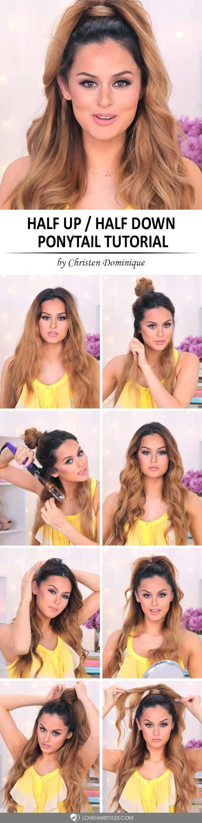 Tips On How To Do A Ponytail Ally Pinterest Ponytail And Hair