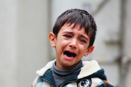 Resultado de imagen para niño llorar