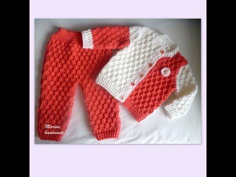 Cardigan Baby Sweater 1 Year Baby In Urduhindi By Azra Salim