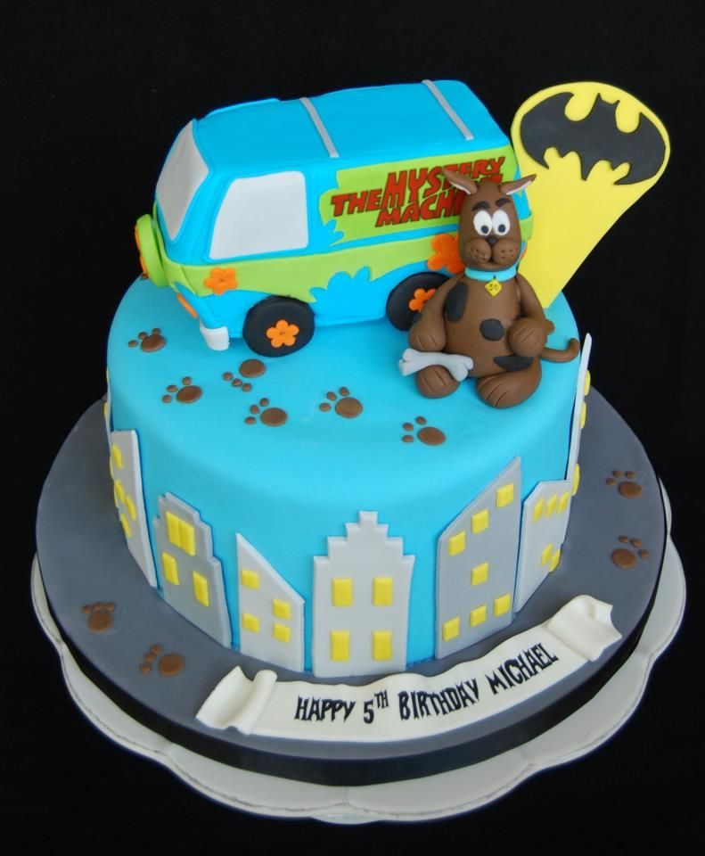 Scooby Doo Baby Shower Theme: Scooby Doo Baby Shower Cakes