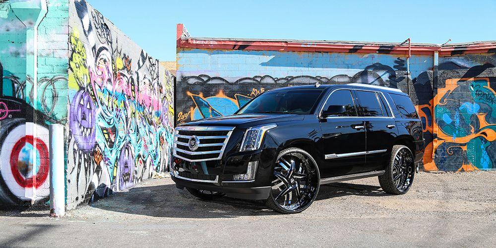 Cars Gallery | Cadillac | Escalade | White | Forgiato