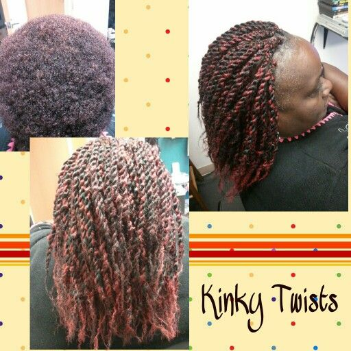Marley Braid By Vanessa Used In Black Red Combo Colors Five Packs
