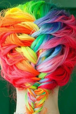 Colorful! | Funky Hair Color | Braided Hair
