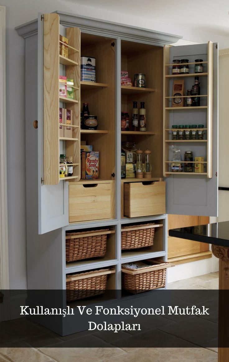 Kullanışlı Ve Fonksiyonel Mutfak Dolapları