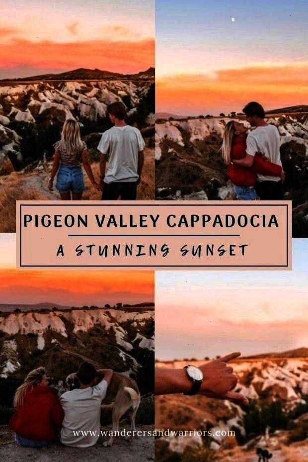 Güvercinlik Vadisi Kapadokya - Guvercinlik Vadisi - Sunsets in Cappadocia : Pigeon Valley Cappadoc