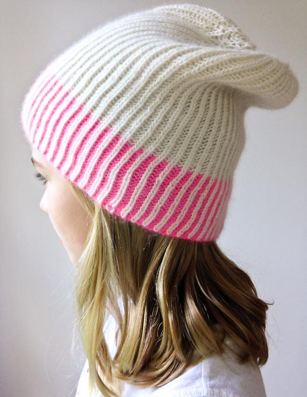 b4f0a477c43 Color Dipped Hat (The Purl Bee) | Knit & Crochet | Pinterest ...