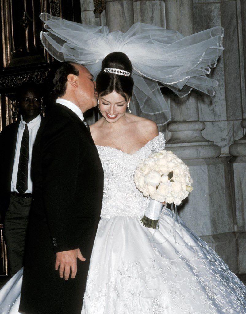 Thalia Tommy Mottola Wedding Dresses Glamorous Wedding