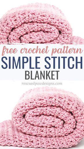 Easy Crochet Blanket Pattern - Easy Crochet Patter