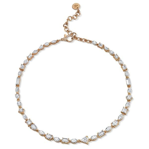 Mixed Diamond Tennis Necklace Diamond Tennis Necklace Tennis Necklace Diamond White