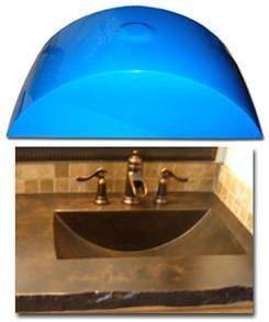 Concrete Countertop Rubber Sink Mold