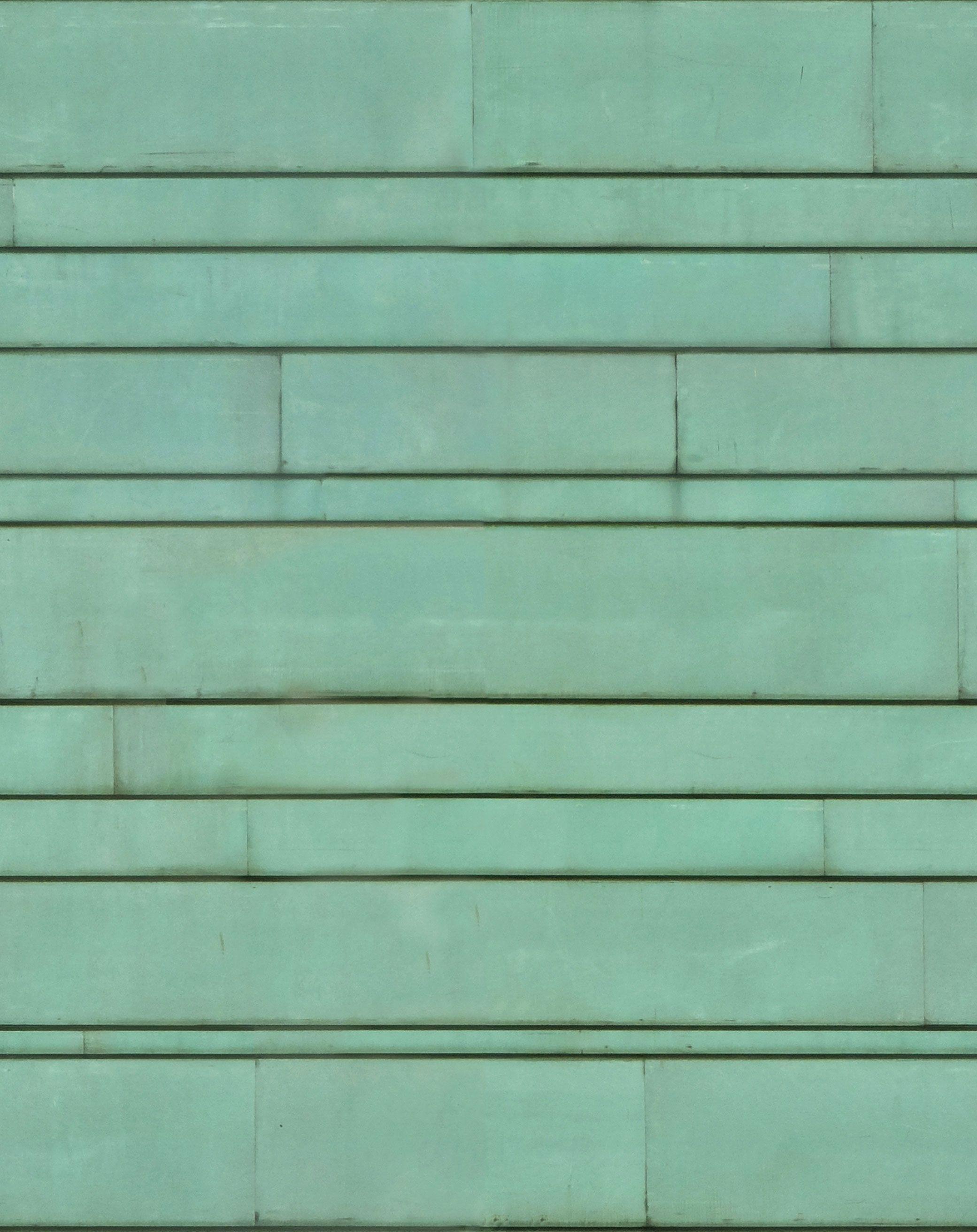 Green Copper Sheeting Seamless Texture Materials