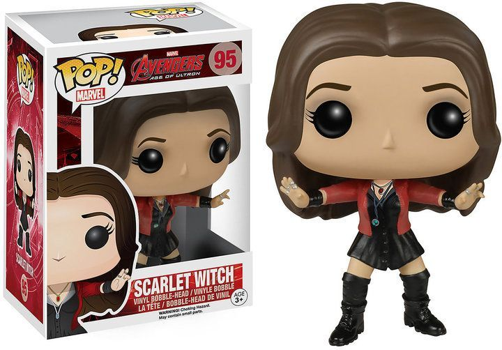 Marvel Avengers Scarlet Witch Civil War Action Figure Model Toy Doll Statue Gift