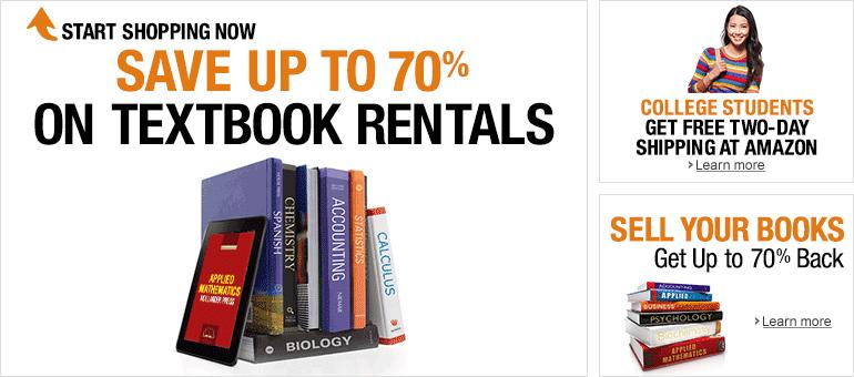 Amazon Textbooks Rent College Textbooks College Textbook Used Textbooks Textbook Rental