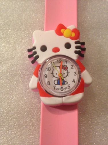 #Hello #kitty kids quartz wrist watch easy strap girls gift idea uk #seller,  View more on the LINK: 	http://www.zeppy.io/product/gb/2/331801369668/