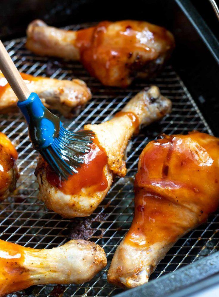 AIR FRYER BBQ CHICKEN DRUMSTICKS!!! + Tasty Air Fryer