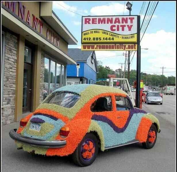 Rug Bug Vw Bug Beetle Car Volkswagen