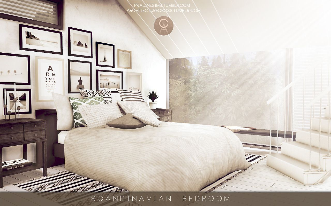 architecturecross Scandinavian Bedroom u2022 DOWNLOAD Windows