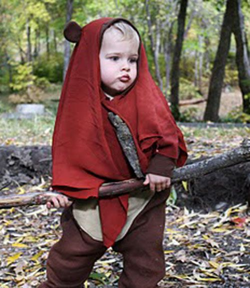 62 Utterly Adorable Homemade Halloween Costumes for Kids  sc 1 st  Pinterest & 62 Utterly Adorable Homemade Halloween Costumes for Kids   Ewok ...