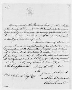 Major French wrote at least eight letters to Gen.Washington, the first one on August 15, 1776 (George Washington Papers, Library of Congress).Major Christopher French, Prisoner of War | Journal of the American Revolution