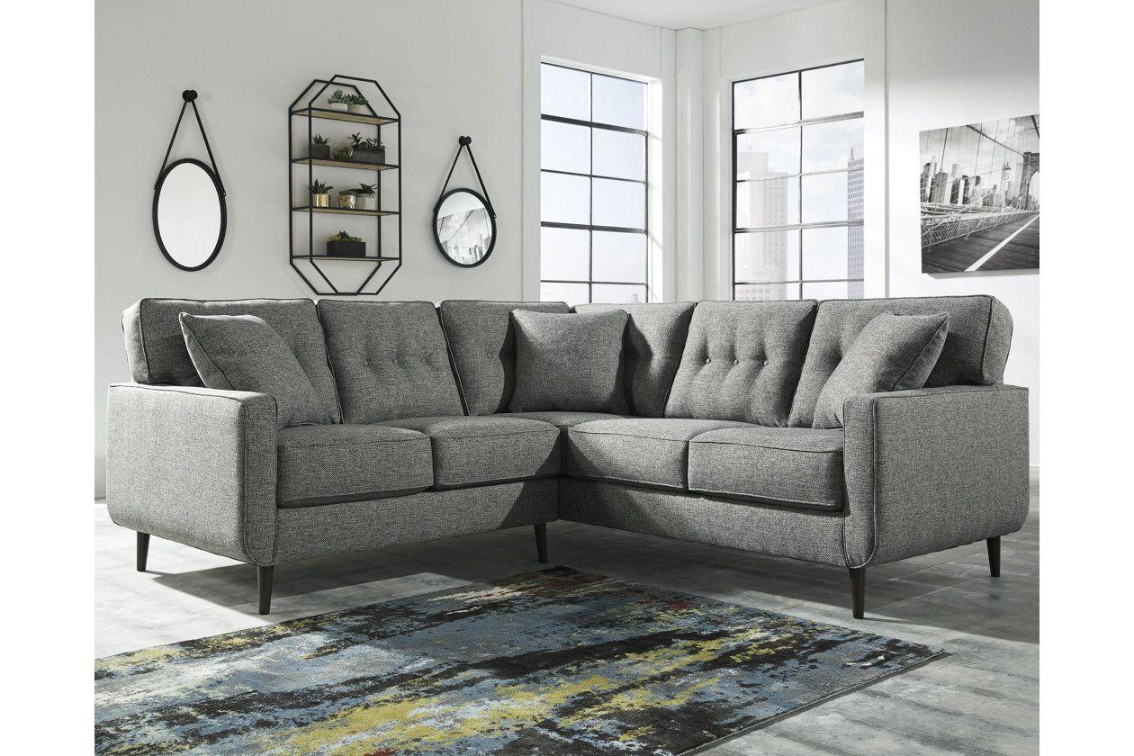 zardoni 2 piece sectional ashley furniture homestore living room rh pinterest com