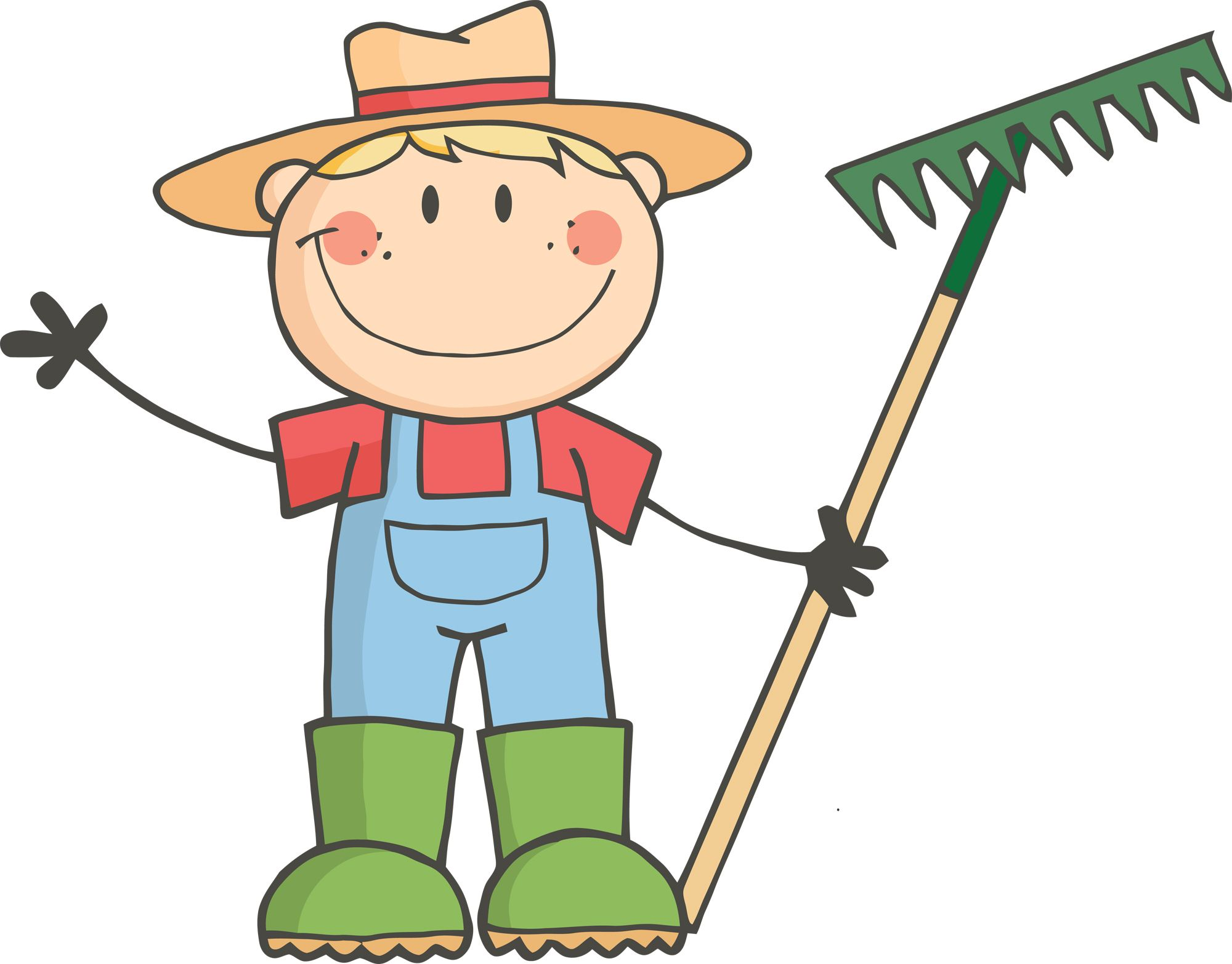 Iowa Team Ag Ed Gardening for kids, Clip art, Kids