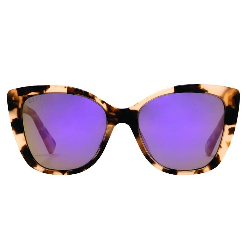 11ec39d6fc8f6 The Ruby is a modern style designer cat eye in himalayan acetate with  perfectly sized taupe flash polarized lenses for a large variety of face  shapes.